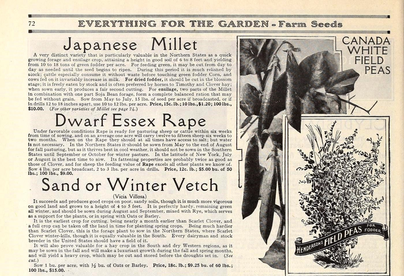 Image select plants