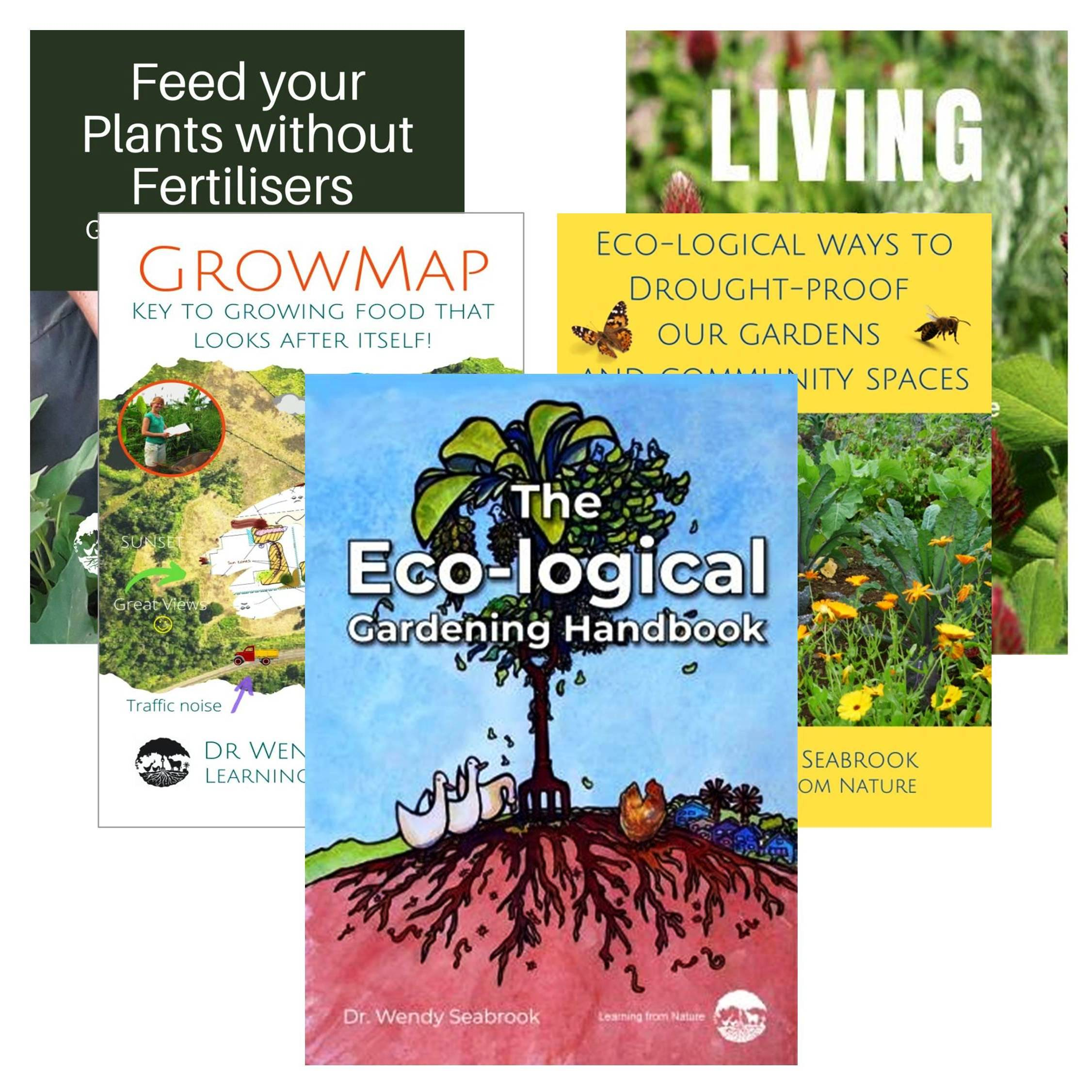 Image showing resources on ecological gardening