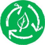 Icon illustrating nutrient cycle - part of what is regenerative farming and gardening